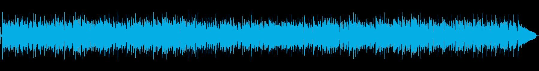 ピアノが特徴的なボサノバの再生済みの波形