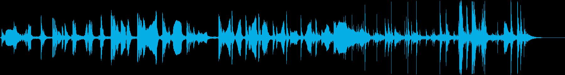 エスニック。集団即興演奏。の再生済みの波形