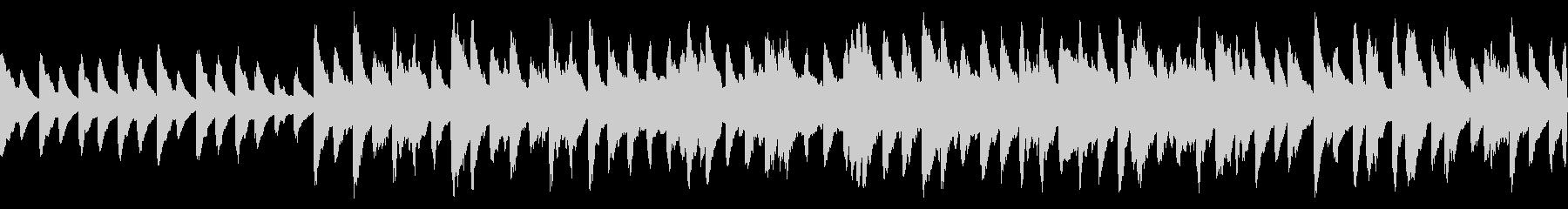 残響感のあるバラード曲(ループ仕様)の未再生の波形