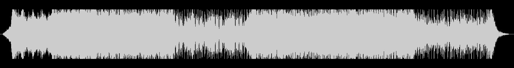 疾走感あるメタル・ロック系BGM_2の未再生の波形