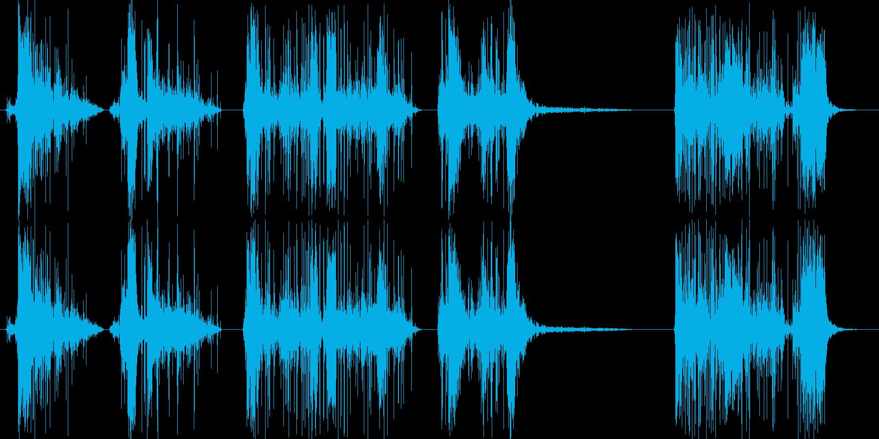 フィクション 電力装置 スパーク10の再生済みの波形
