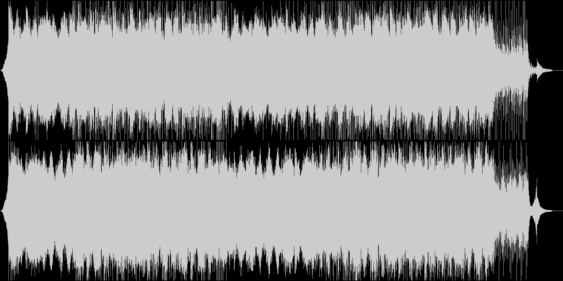 CMや企業紹介映像向けコーポレート系楽曲の未再生の波形