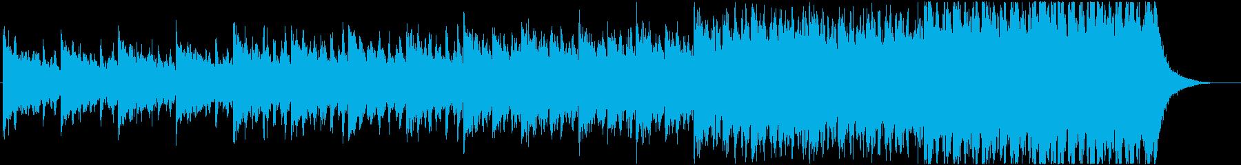 緊迫感のあるシネマティック曲 5-2の再生済みの波形