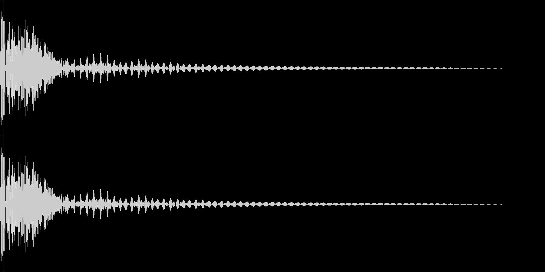 DTM Tom 32 オリジナル音源の未再生の波形