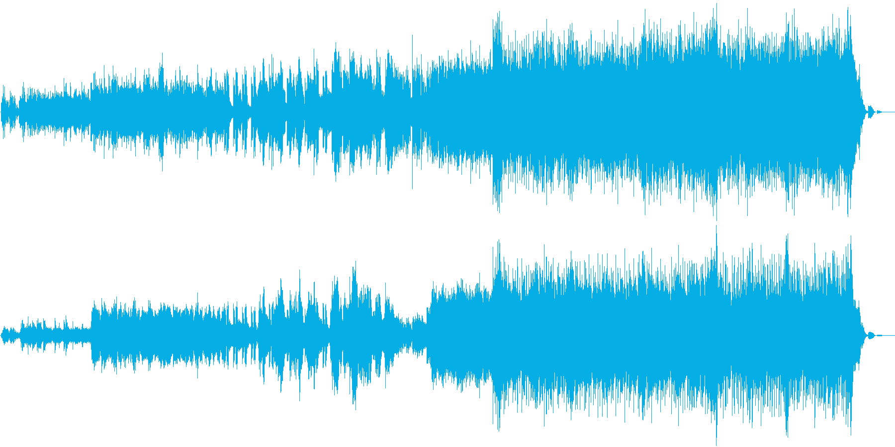 泣きのメロディーが歌うロックインストの再生済みの波形