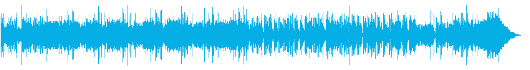 アンダーグラウンドなエレクトロニカの再生済みの波形