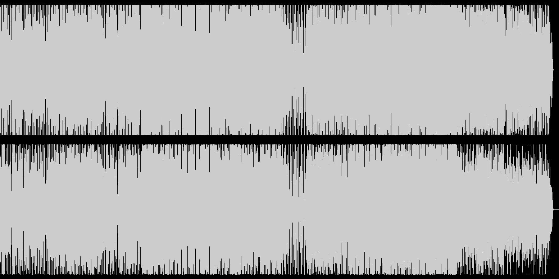 ワクワク、愉快なメロディのEDMの未再生の波形