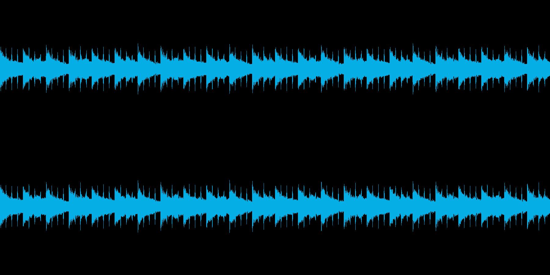 時報をテーマにしたラジオBGMの再生済みの波形