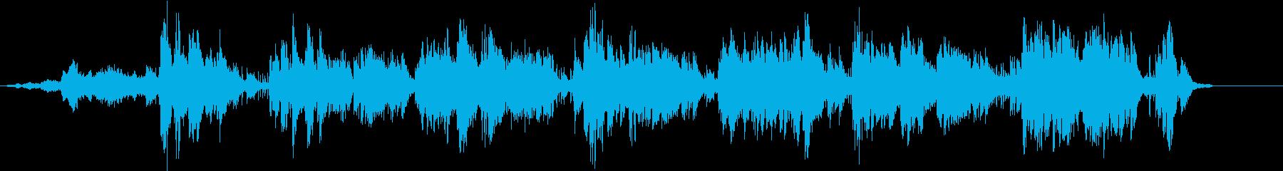 モード系ハープバラードの再生済みの波形