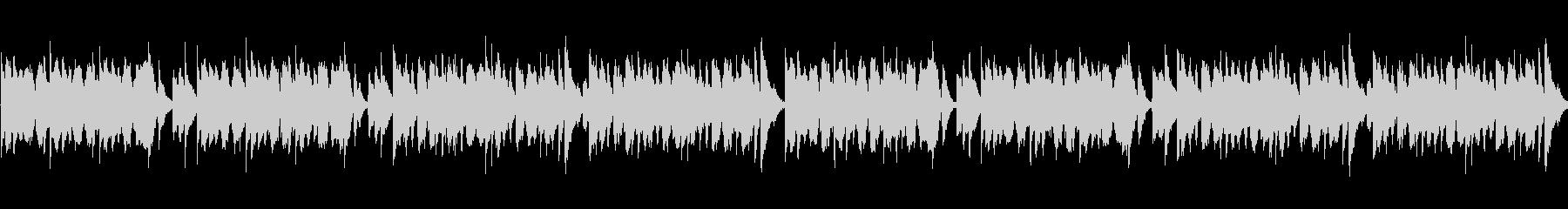 アニメ風日常・ほのぼのシーン向けBGMの未再生の波形