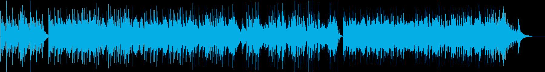【ピアノソロ】ピアノの落ち着いた和風曲の再生済みの波形