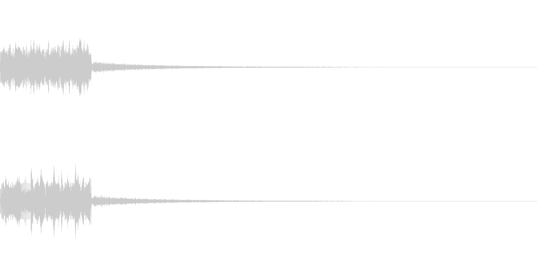 SE ラジオDJ用盛り上げ効果音 1の未再生の波形