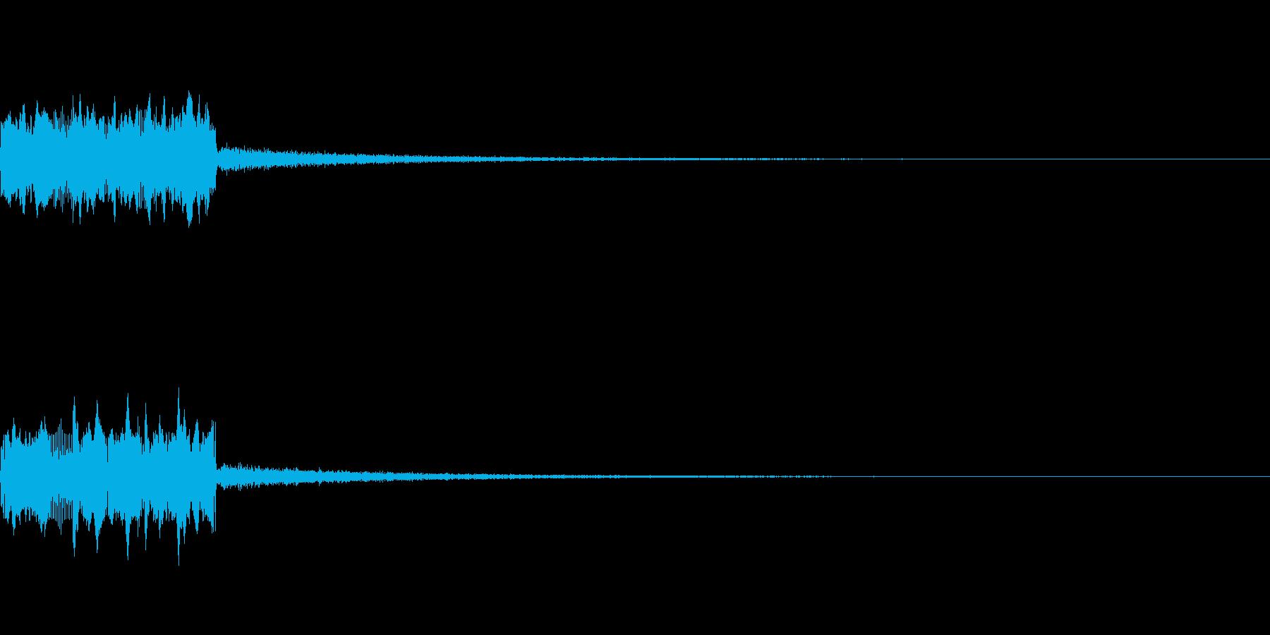 SE ラジオDJ用盛り上げ効果音 1の再生済みの波形