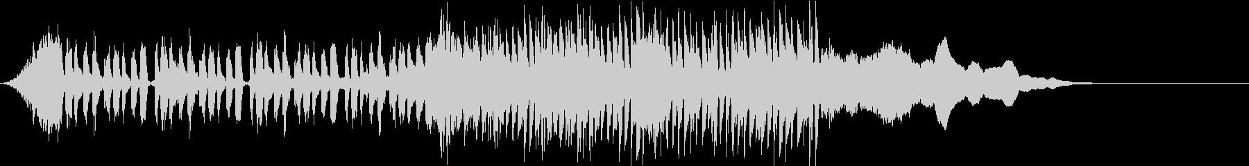 ★神秘的な前奏とサウンドロゴの未再生の波形