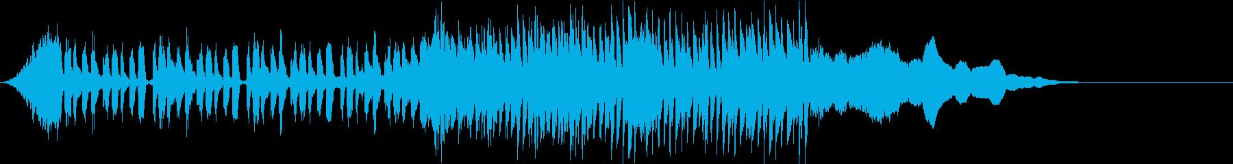 ★神秘的な前奏とサウンドロゴの再生済みの波形