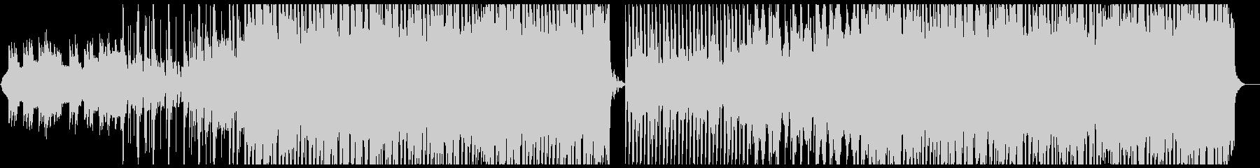 力の抜けたリードが特徴的なEDMの未再生の波形