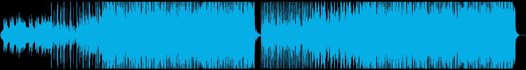 力の抜けたリードが特徴的なEDMの再生済みの波形