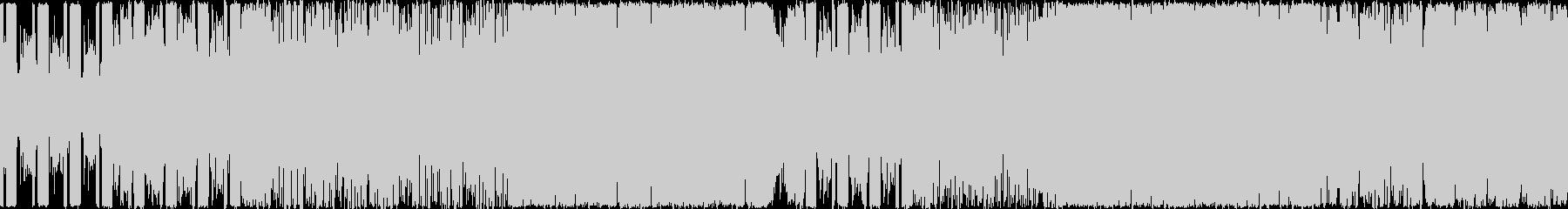 険しい山を演出したギター系の曲<loo…の未再生の波形