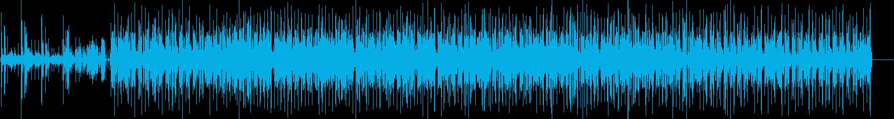 ピアノアルペジオ。サックスメロディ...の再生済みの波形