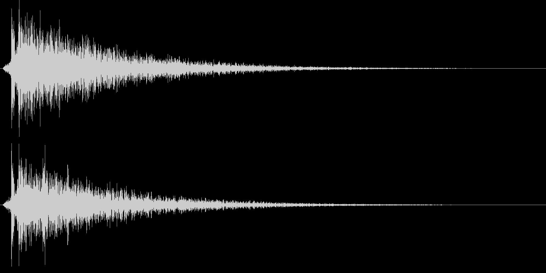 カポーン(お風呂・銭湯・温泉)ワイド版の未再生の波形