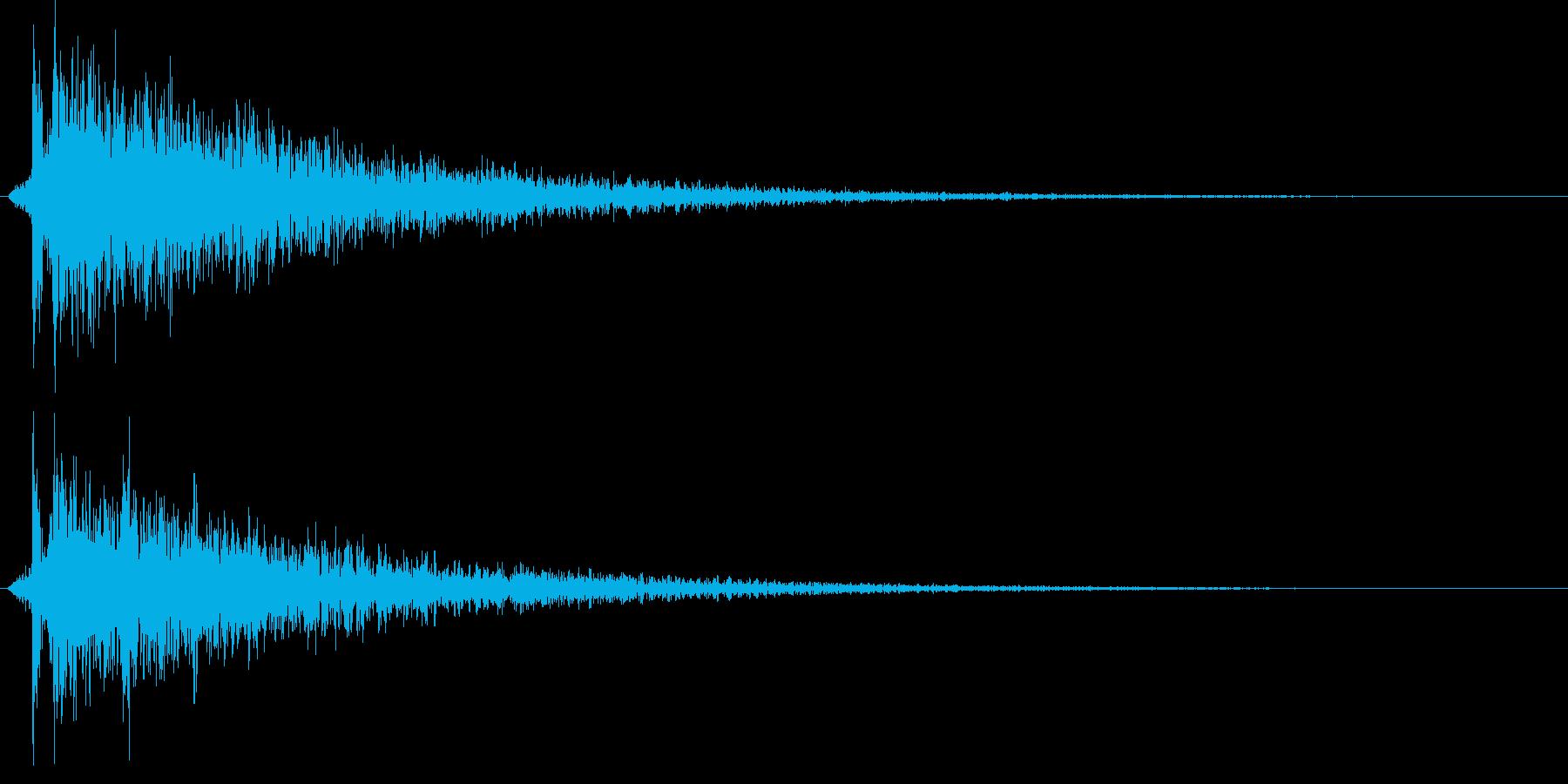 カポーン(お風呂・銭湯・温泉)ワイド版の再生済みの波形