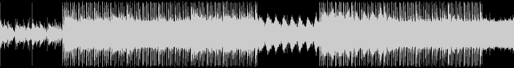 ローファイ ヒップホップの未再生の波形