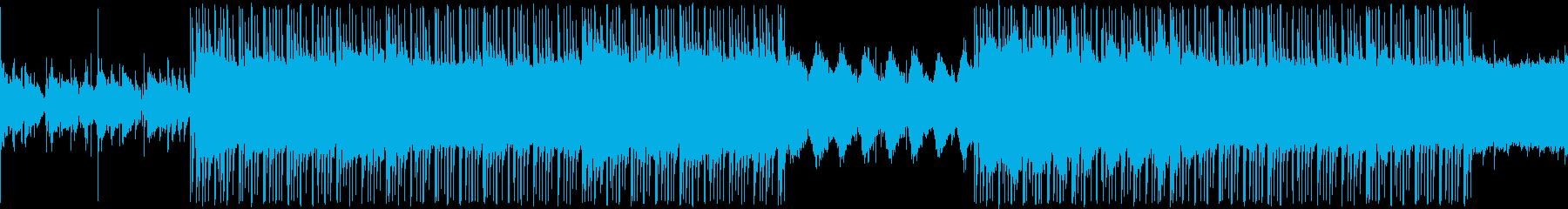 ローファイ ヒップホップの再生済みの波形