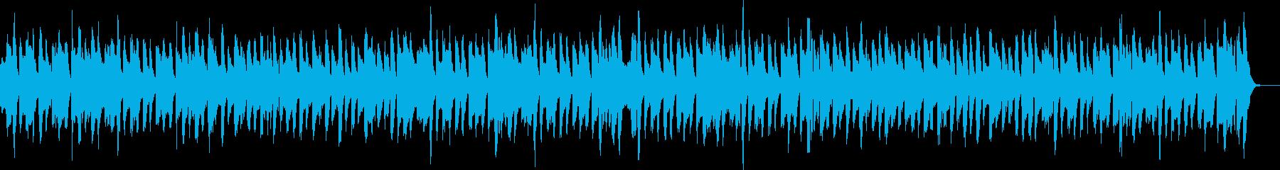 生演奏リコーダーでほのぼののんびりタイムの再生済みの波形