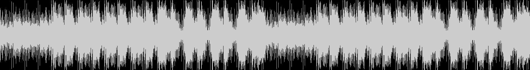 リコーダーとアコギ主体の「ほっこり感」の未再生の波形