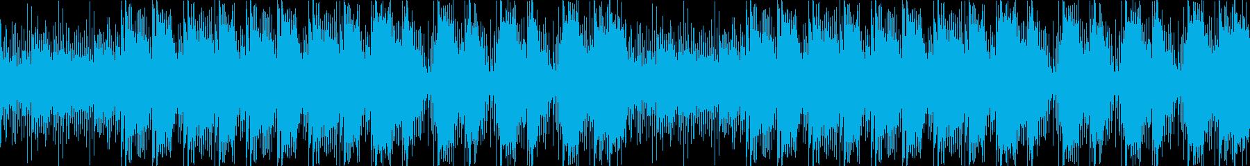 リコーダーとアコギ主体の「ほっこり感」の再生済みの波形