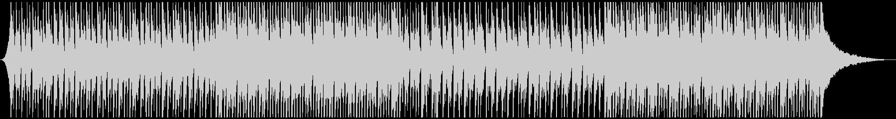 かわいいウクレレと鉄琴のハッピーチューンの未再生の波形