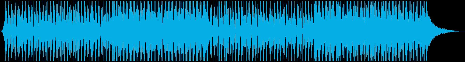 かわいいウクレレと鉄琴のハッピーチューンの再生済みの波形
