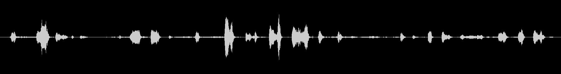 鳴き声 子供の笑いのくすぐり02の未再生の波形