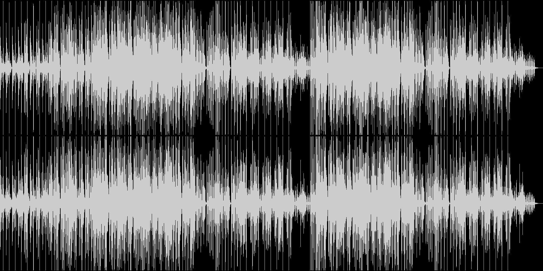 軽快レトロな可愛らしいゲーム風音楽の未再生の波形