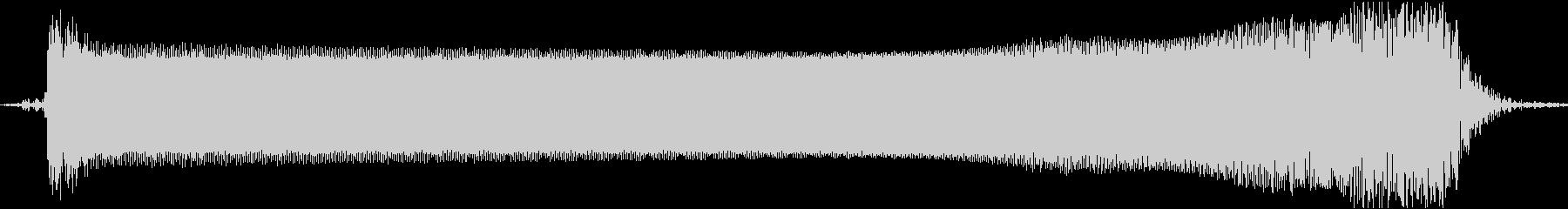 【エレキギター】アームダウン音の未再生の波形