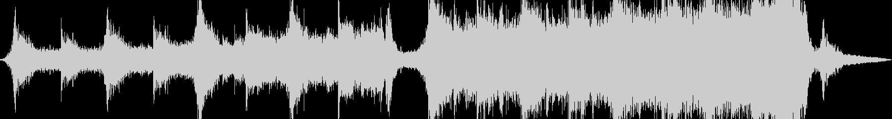 現代の交響曲 広い 壮大 劇的な ...の未再生の波形