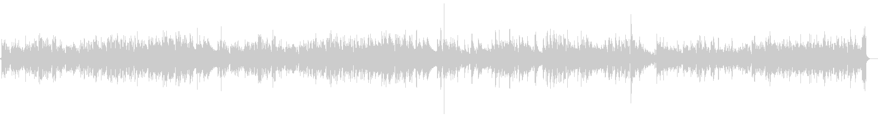 マイナー調のアコギインストの未再生の波形