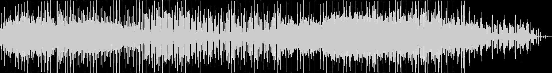 スローファンク、レトロっぽいR&B の未再生の波形
