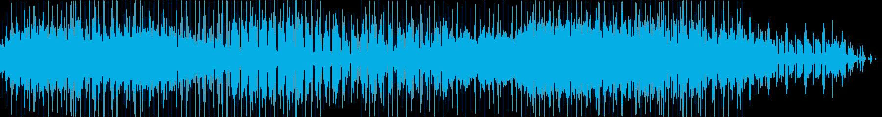 スローファンク、レトロっぽいR&B の再生済みの波形