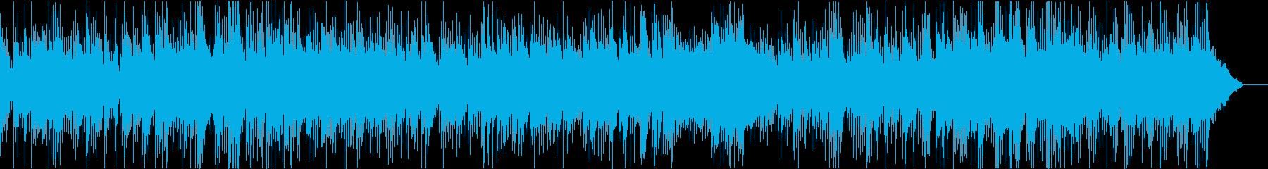 アコギメインの優しいバラードの再生済みの波形