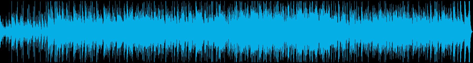 プラスの陽気なラテン 60秒タイプの再生済みの波形