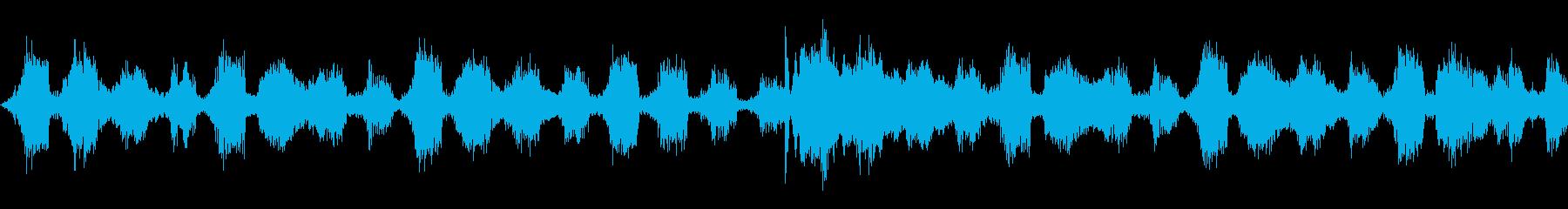 女性歌声のトロピカルハウス,OPジングルの再生済みの波形