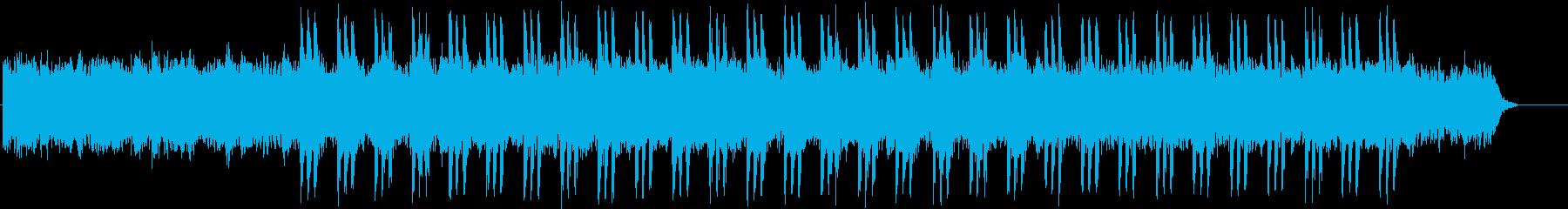 不安を感じるような不思議なBGMの再生済みの波形