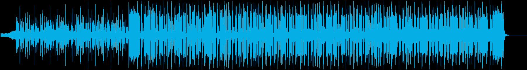 ダンス・エレクトロニカ楽器。ディス...の再生済みの波形