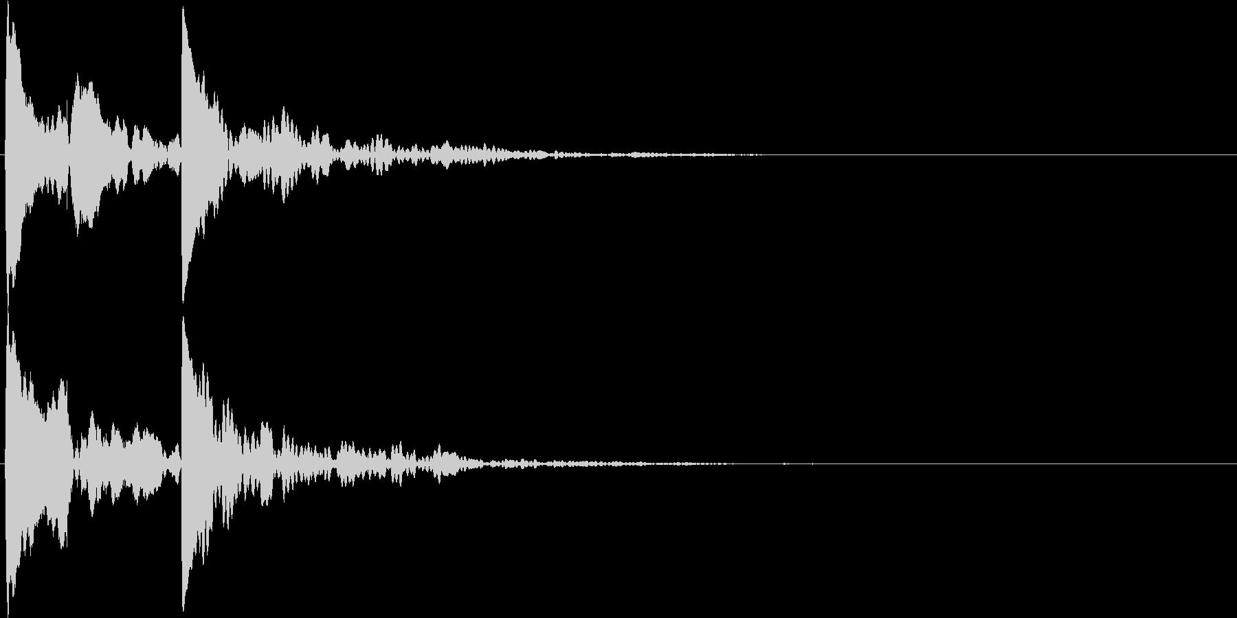 キコッ(アクセント・装飾音・ヒラメキ)の未再生の波形