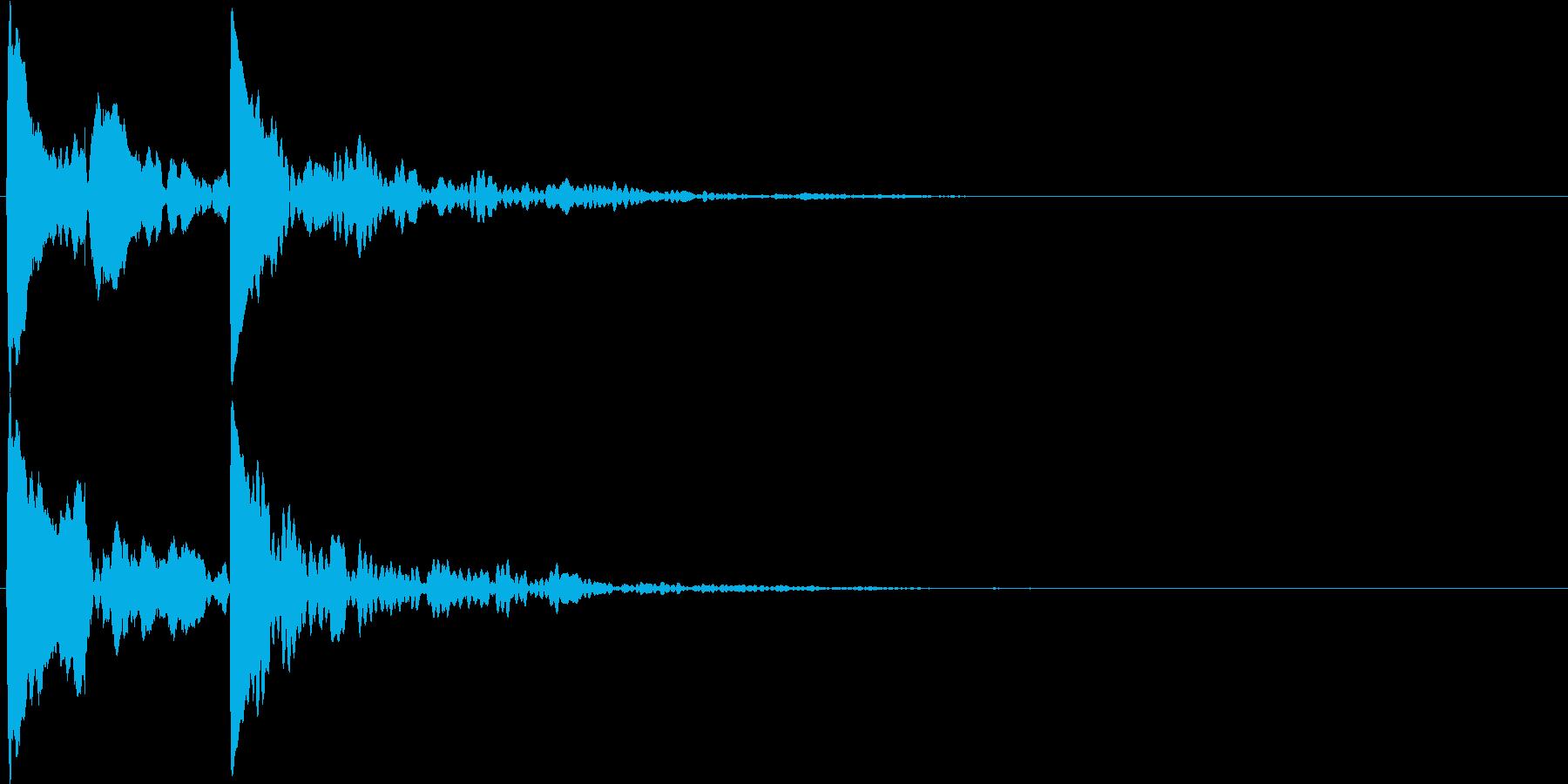 キコッ(アクセント・装飾音・ヒラメキ)の再生済みの波形