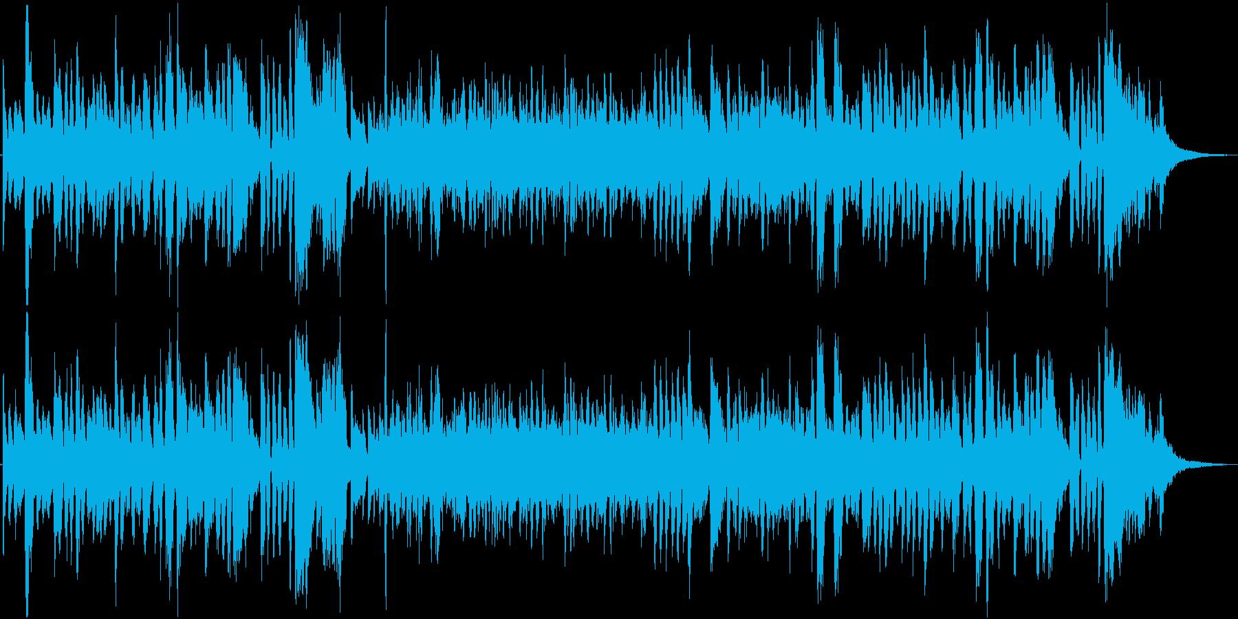 母の日をテーマにした楽曲の再生済みの波形