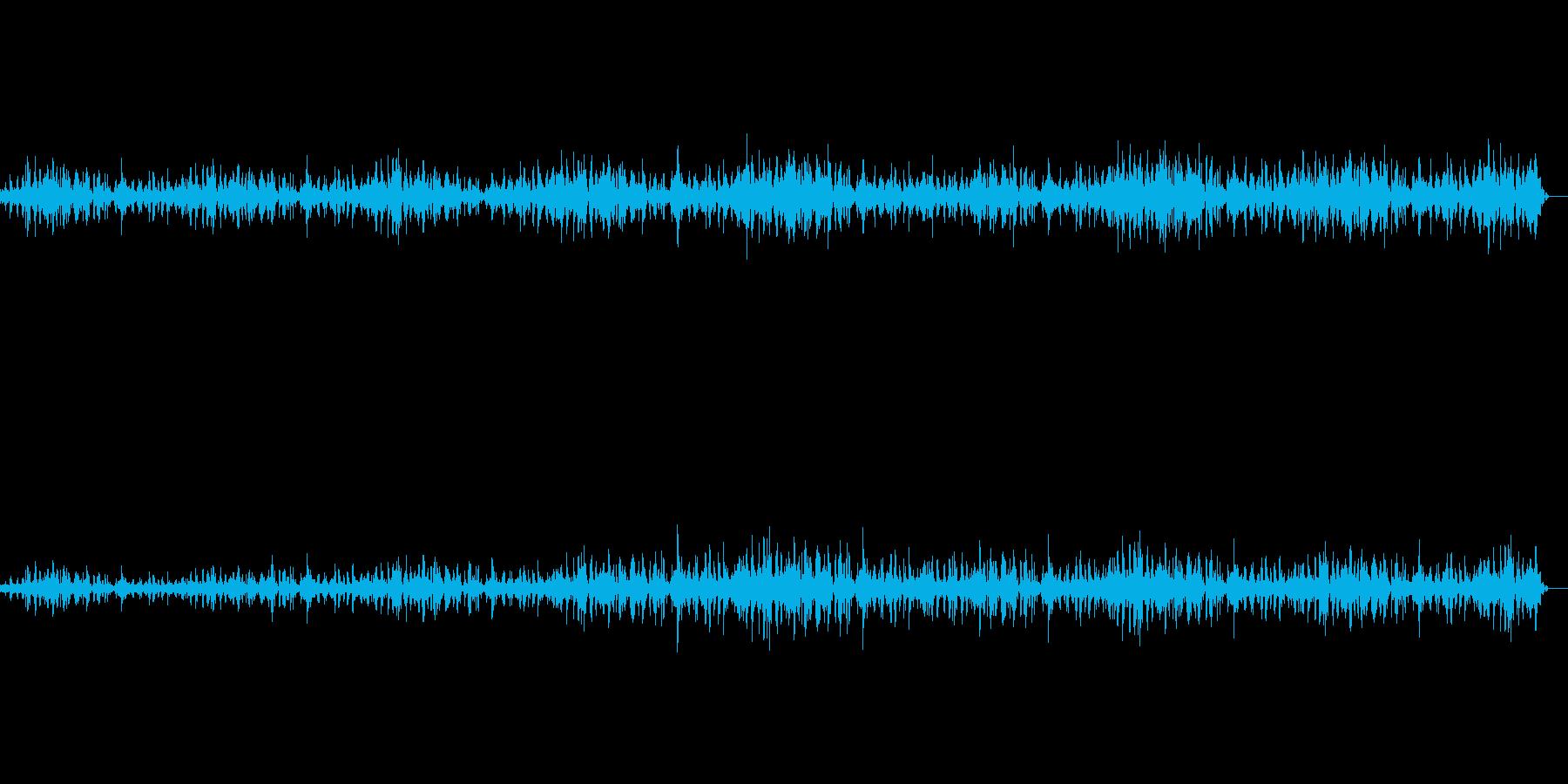 バーンのウォーキングバックとフォー...の再生済みの波形