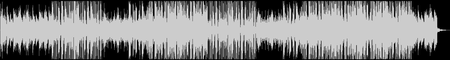 おしゃれな雰囲気のエレクトロの未再生の波形
