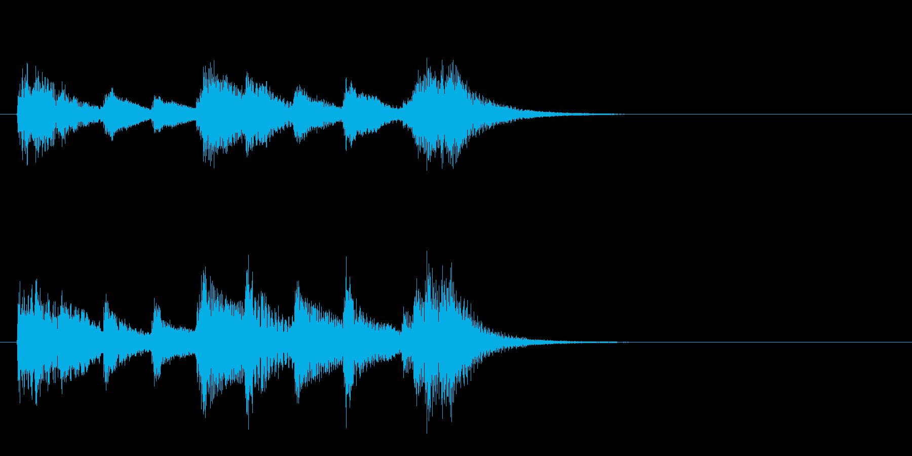 和風5 レアカード入手 レベルアップの再生済みの波形